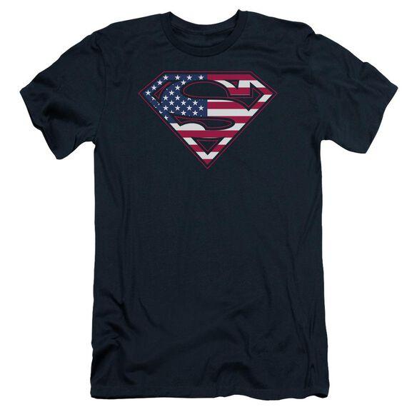 Superman U S Shield Short Sleeve Adult T-Shirt