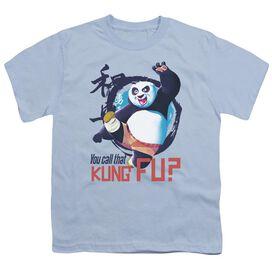 Kung Fu Panda Kung Fu Short Sleeve Youth Light T-Shirt