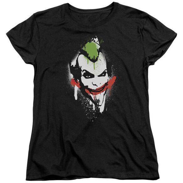 ARKHAM CITY SPRAYPAINT SMILE-S/S T-Shirt