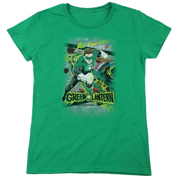 Dc Space Sector 2814 Short Sleeve Womens Tee Kelly T-Shirt
