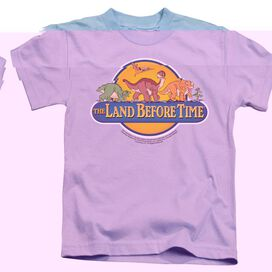 LAND BEFORE TIME DINO BREAKOUT - S/S JUVENILE 18/1 - LIGHT BLUE - T-Shirt