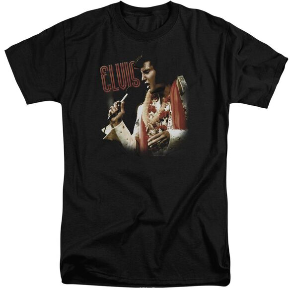 Elvis Soulful Short Sleeve Adult Tall T-Shirt