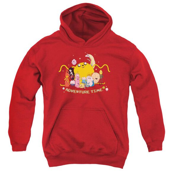 Adventure Time Outstretched Youth Pull Over Hoodie