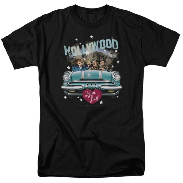 I Love Lucy Hollywood Road Trip Short Sleeve Adult T-Shirt
