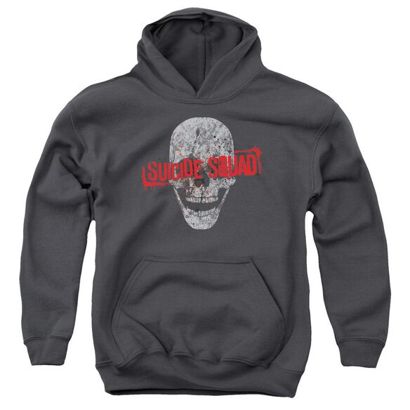 Suicide Squad Skull Youth Pull Over Hoodie