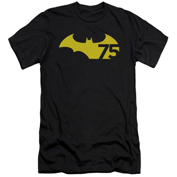 Batman 75 Logo 2 Short Sleeve Adult T-Shirt