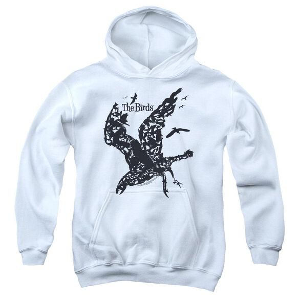Birds Title Youth Pull Over Hoodie