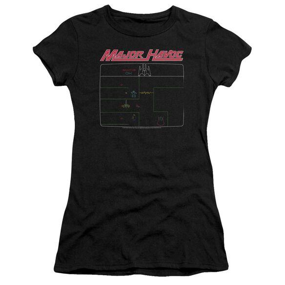 Atari Major Havoc Screen Premium Bella Junior Sheer Jersey