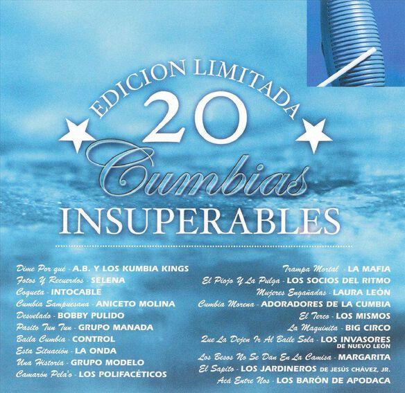 20 Cumbias Insuperables
