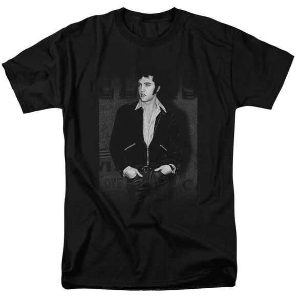 Elvis Just Cool Short Sleeve Adult T-Shirt