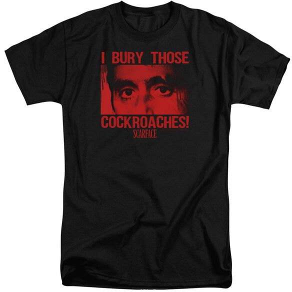 Scarface Cockroaches Short Sleeve Adult Tall T-Shirt