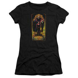 Jla Deco Short Sleeve Junior Sheer T-Shirt