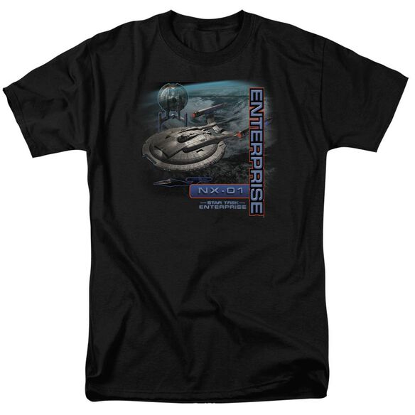Star Trek Enterprise Nx 01 Short Sleeve Adult T-Shirt