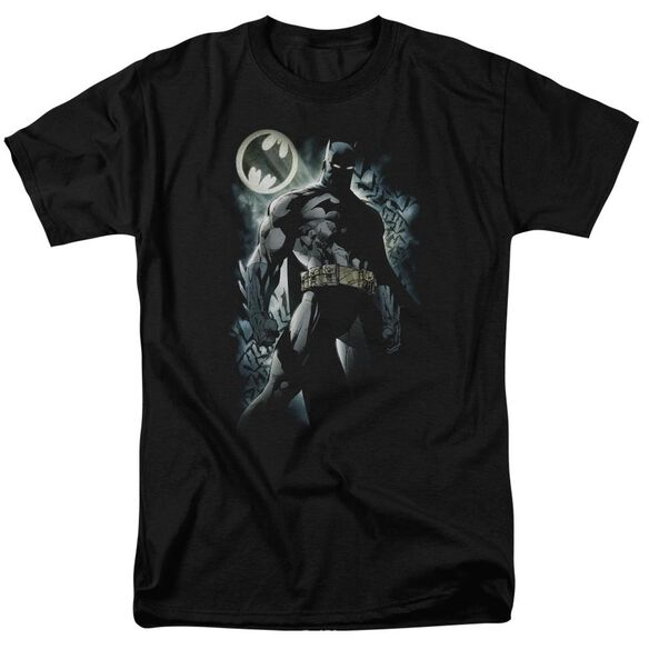 Batman The Knight Short Sleeve Adult T-Shirt