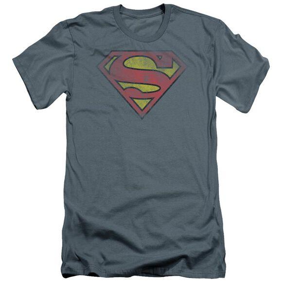 Superman Inside Shield Premuim Canvas Adult Slim Fit