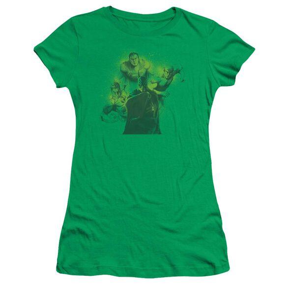 Dco Spray Sketch League Short Sleeve Junior Sheer Kelly T-Shirt