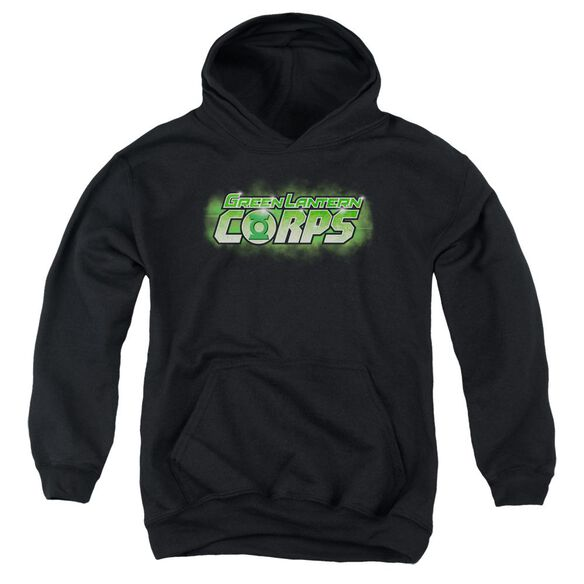Green Lantern Gl Corps Title Youth Pull Over Hoodie