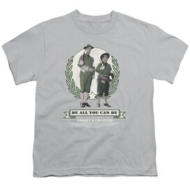 Abbott & Costello Be All You Can Be Short Sleeve Youth T-Shirt