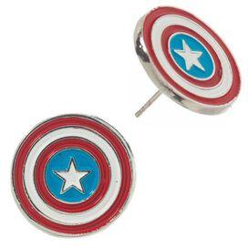 Avengers Captain America Spiderman 4 Pair Earrings Set