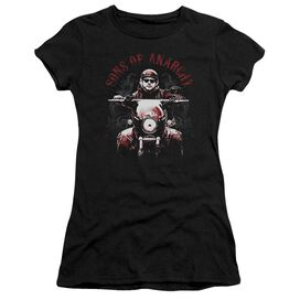 Sons Of Anarchy Ride On Short Sleeve Junior Sheer T-Shirt