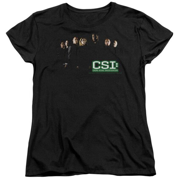 Csi Shadow Cast Short Sleeve Womens Tee T-Shirt