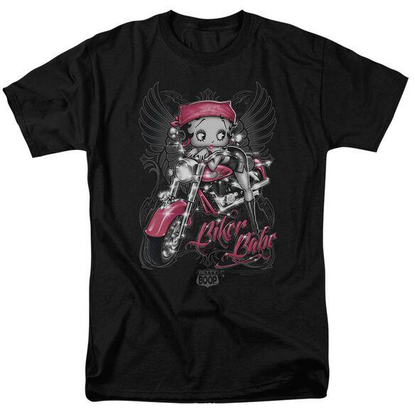Betty Boop Biker Babe Short Sleeve Adult T-Shirt