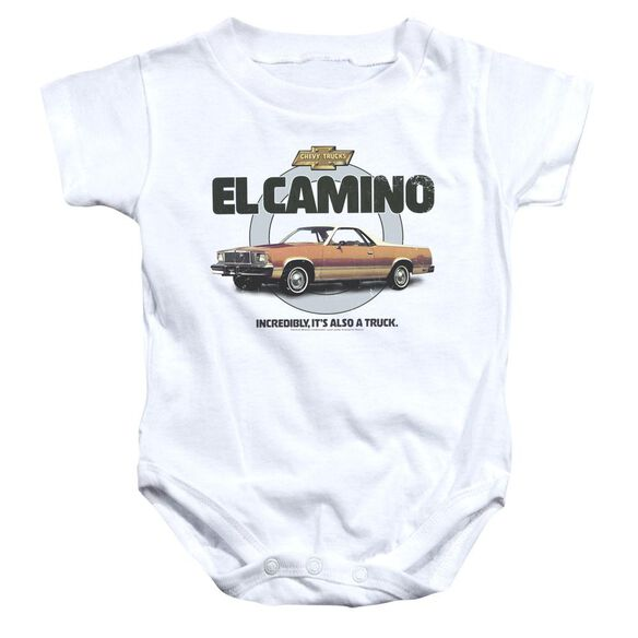 Chevrolet Also A Truck Infant Snapsuit White