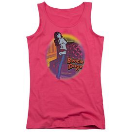 Bettie Page Retro Pop Juniors Tank Top Hot