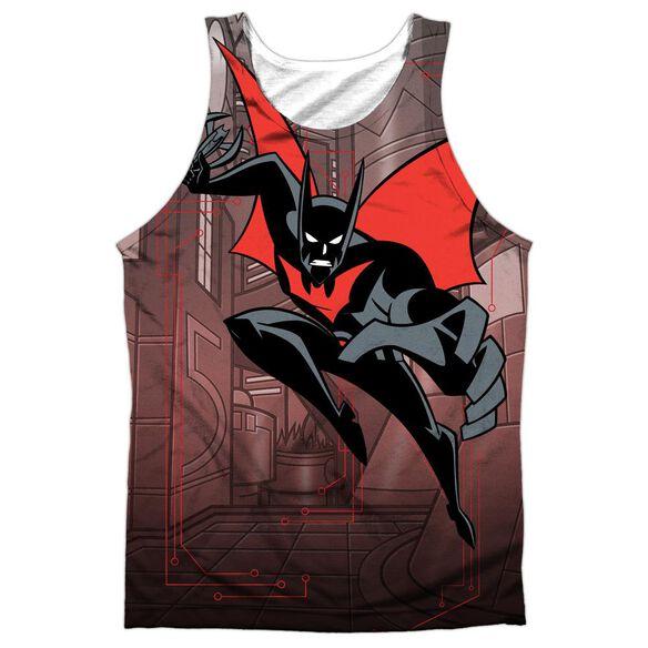 Batman Beyond Bat Tech Adult 100% Poly Tank Top