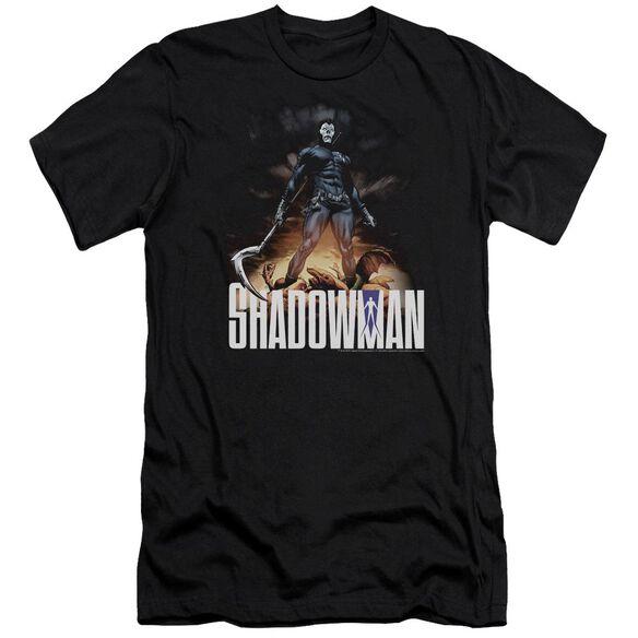 Shadowman Shadow Victory Premuim Canvas Adult Slim Fit