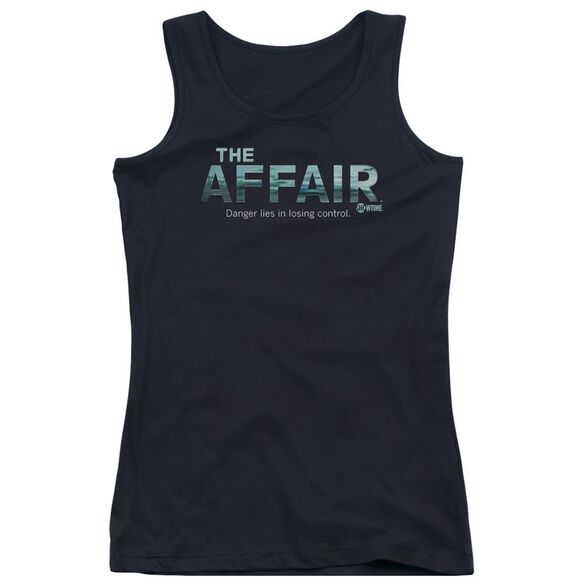 Affair Ocean Logo Juniors Tank Top