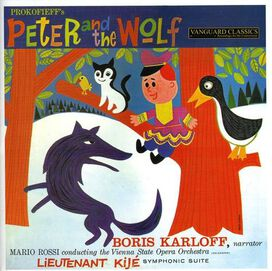Prokofiev/ Vienna State Opera Orch/ Rossi - Peter & the Wolf