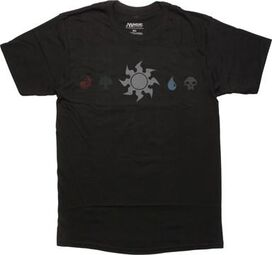 Magic The Gathering White Mana Line T-Shirt