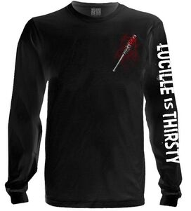 The Walking Dead Negan Lucille is Thirsty Long Sleeve T-Shirt