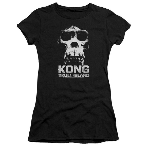 Kong Skull Island Kong Skull Hbo Short Sleeve Junior Sheer T-Shirt