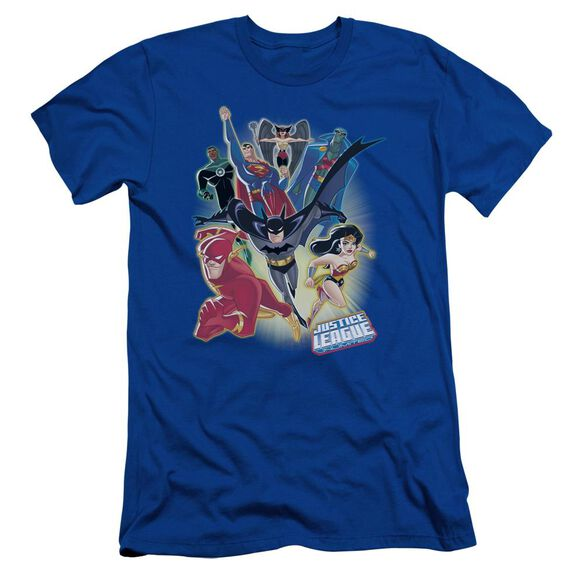 Jla Unlimited Short Sleeve Adult Royal T-Shirt