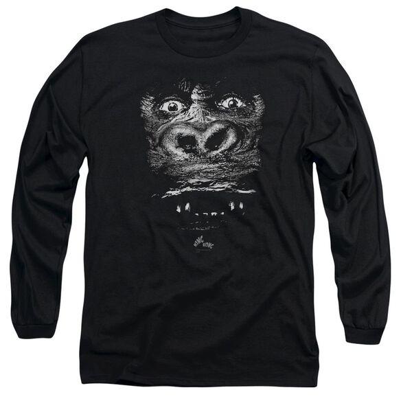King Kong Up Close Long Sleeve Adult T-Shirt