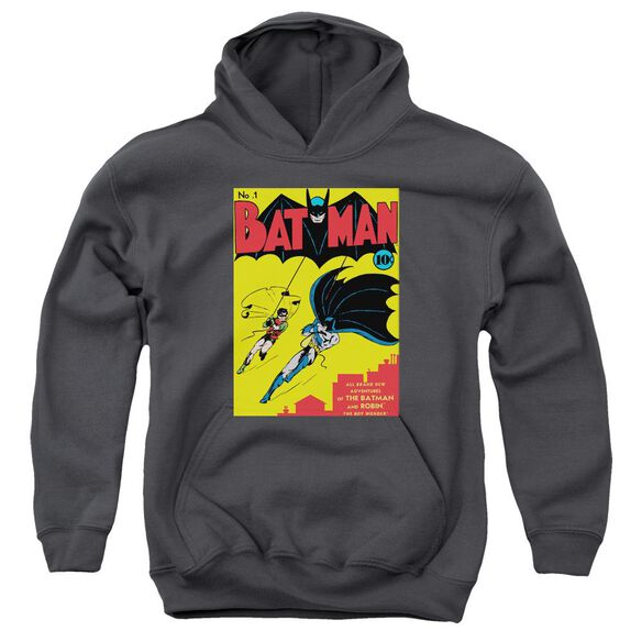 Batman Batman First Youth Pull Over Hoodie