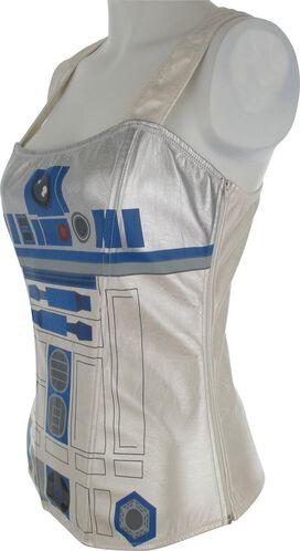 Star Wars R2-D2 Racerback Corset Lingerie