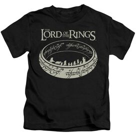 Lord Of The Rings The Journey Short Sleeve Juvenile T-Shirt