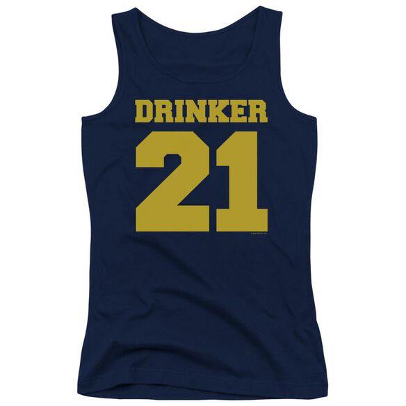 Drinker 21 Juniors Tank Top