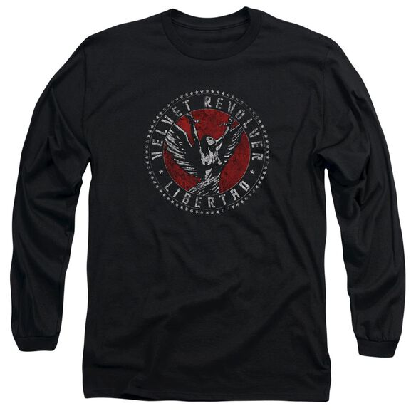 Velvet Revolver Circle Logo Long Sleeve Adult T-Shirt
