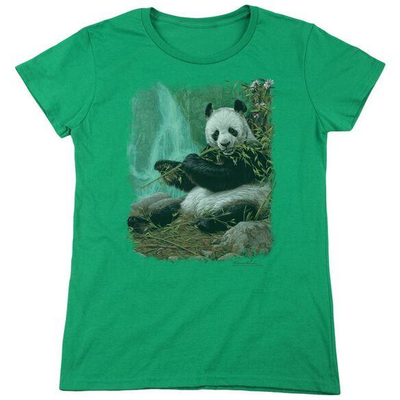Wildlife Citizen Of Heaven On Earth Short Sleeve Womens Tee Kelly T-Shirt