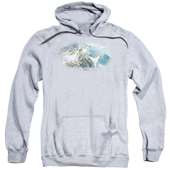 Wildlife High Trails Dall Sheep Adult Pull Over Hoodie Athletic