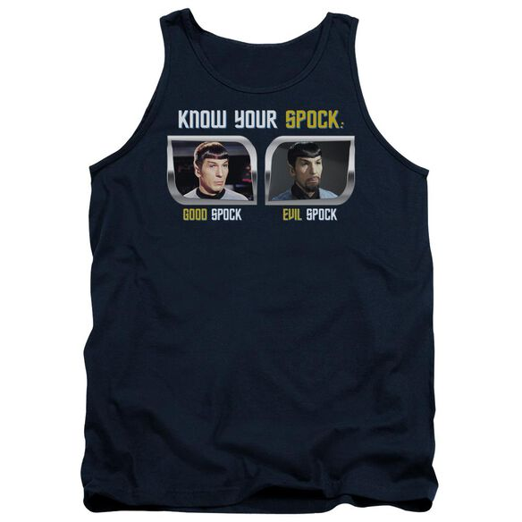 St Original Know Your Spock Adult Tank