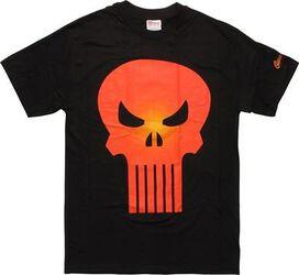 Punisher Orange Logo T-Shirt