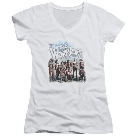 Warriors Amusement Junior V Neck T-Shirt