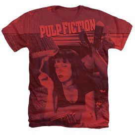 Pulp Fiction Mia Poster Adult Heather