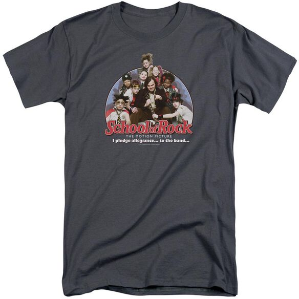 School Of Rock I Pledge Allegiance Short Sleeve Adult Tall T-Shirt