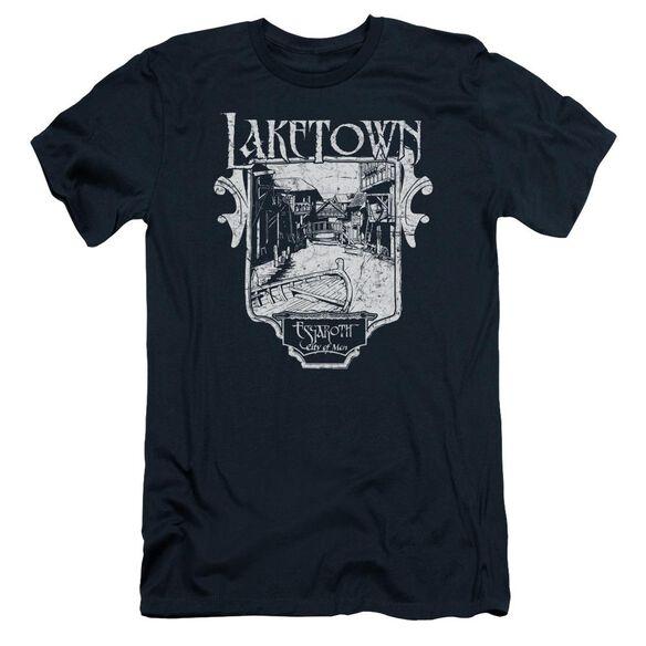 Hobbit Laketown Simple Short Sleeve Adult T-Shirt